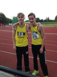 track meeting 800m Friso Santen 20 juni
