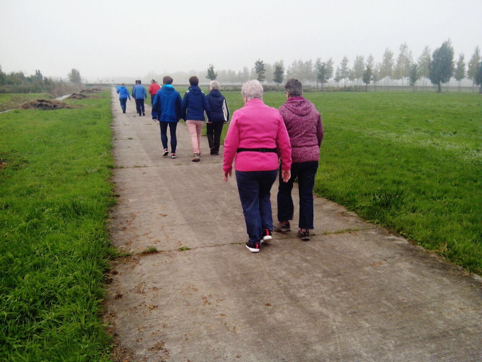 goed gedaan wandelen